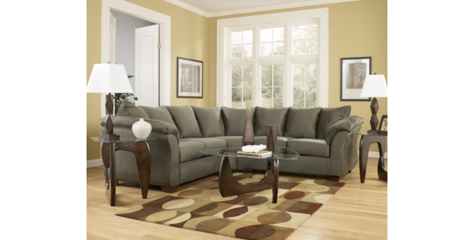 Darcy Sectional Sage