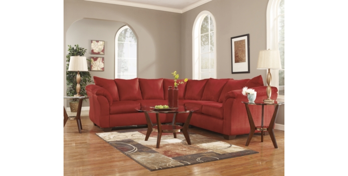 Darcy Sectional in Salsa