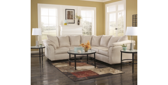 Darcy Sectional in Stone